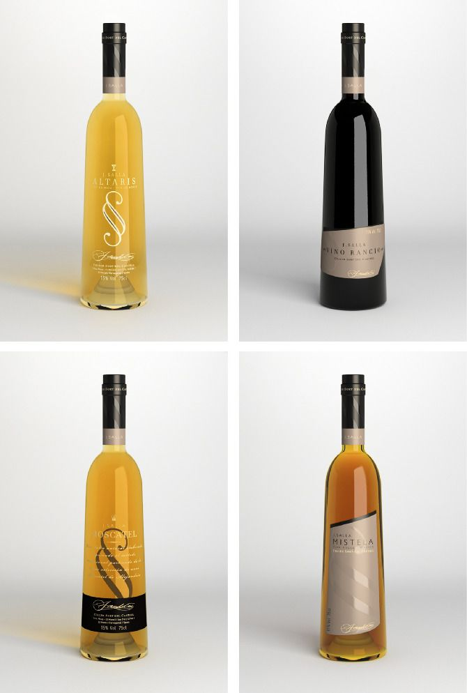 Vinos dulces J.Salla by SeriesNemo, brand and product design.