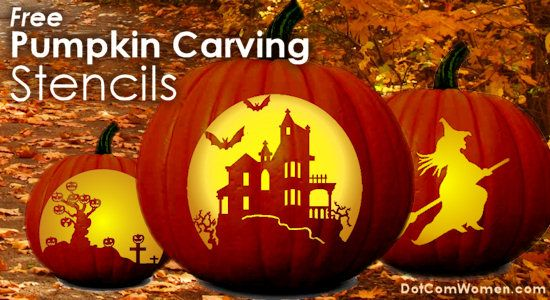 Free Pumpkin Carving Patterns - Stencils and Patterns for Carving Halloween Pumpkins...This site is GREAT!!