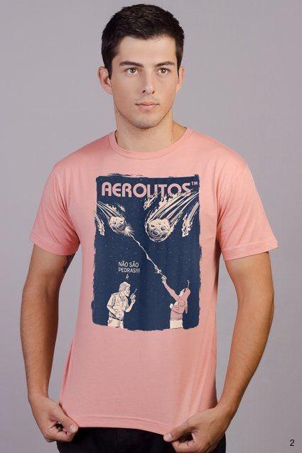 Graças ao Chapolin Colorado, agora todos podem saber: Não são pedras, são aerolitos! Camiseta Aerolitos em homenagem a essa série que marcou nossa infância!