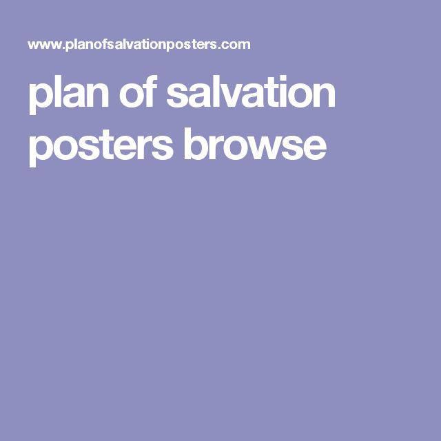 plan of salvation posters browse