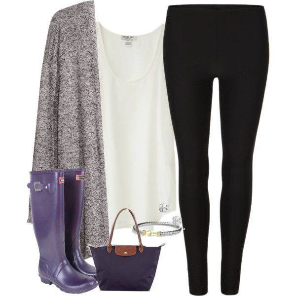 """purple hunters"" by tex-prep on Polyvore - LOVE THIS LOOK"