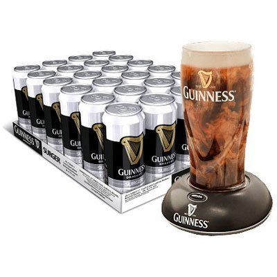 Guinness Surger - Case of 24 x 520ml cans with FREE GUINNESS SURGER (for pub quality Guinness) by Guinness, http://www.amazon.co.uk/dp/B005AII8O2/ref=cm_sw_r_pi_dp_mtBBsb1K28Z01