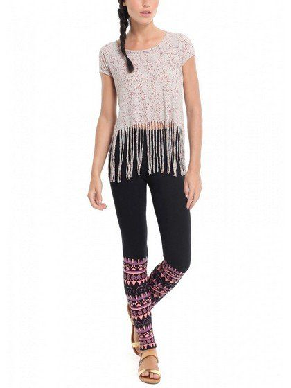 Tribal Aztec Print Leggings