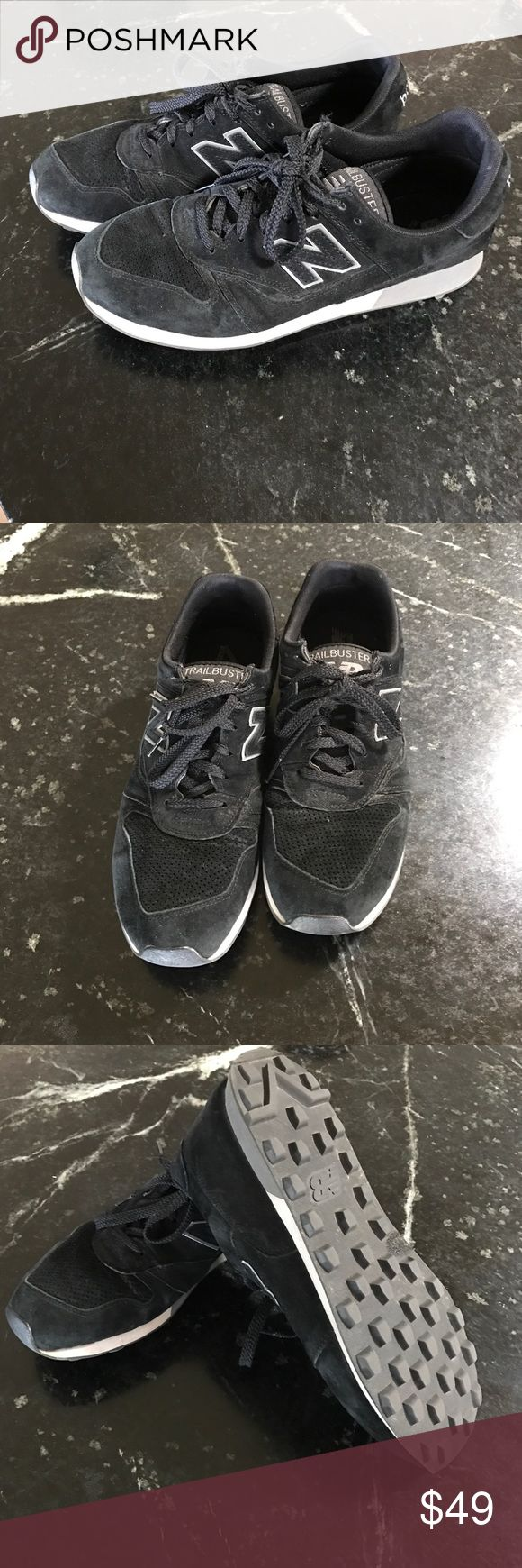 New Balance Mens Trail Buster Sneakers 10 lightly used mens size 10 new balance trailbuster sneakers black New Balance Shoes Sneakers
