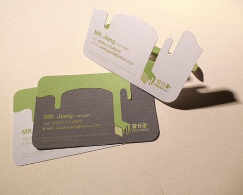 pulkeapaint 70 Creative And Innovating Business Card Designs You Must See