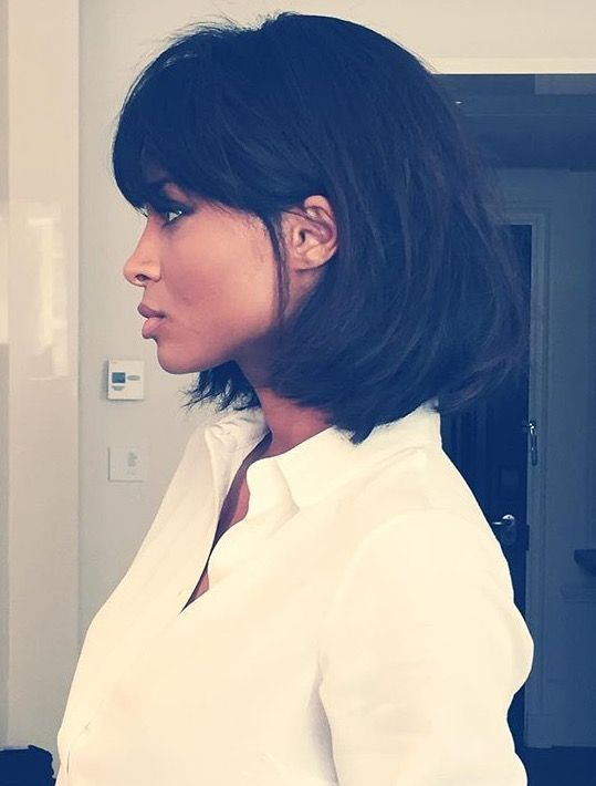 Ciara bob with fringe, pulp fiction