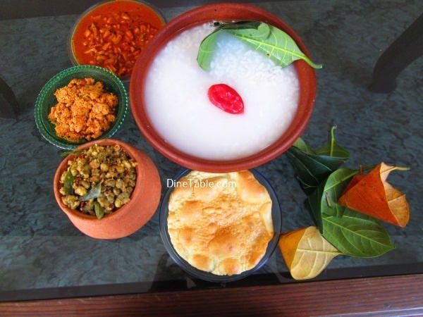 Pazhamkanji Recipe പഴംകഞ്ഞി - Traditional Kerala Breakfast Recipe