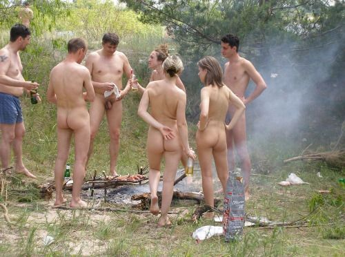 Image result for nudist barbecue