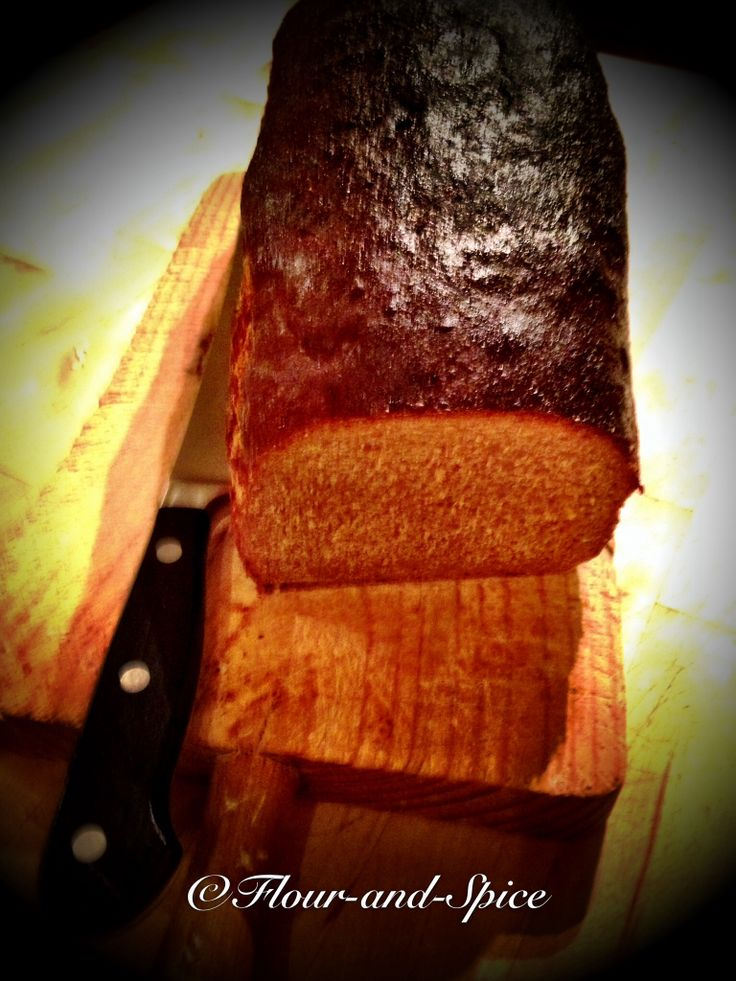 Pumpernickly spice bread with cumin & fennel