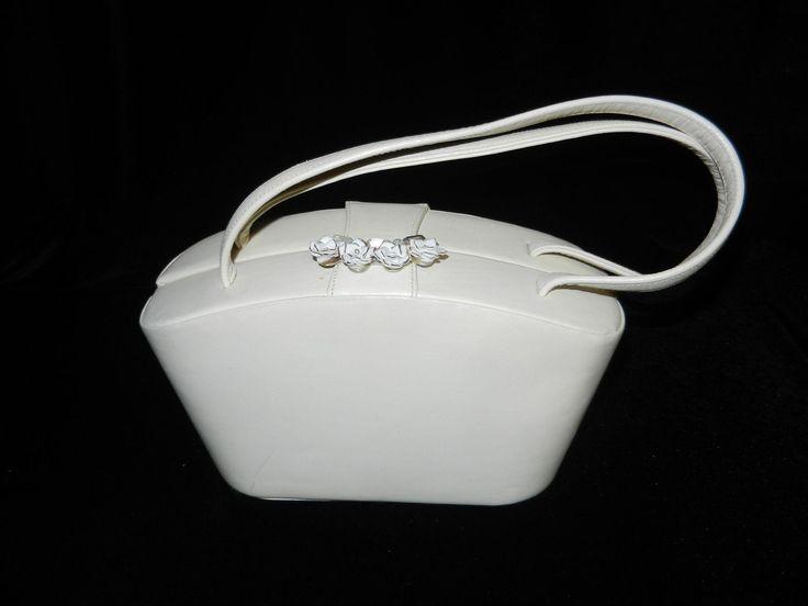 Vintage Wedding White Children's Purse