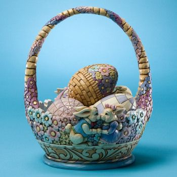 Jim Shore: Annual Easter, Jim Shore, Shore Easter, 7Th Annual, Bunny 7Th, Easter Baskets, Bunnies, Basket Honey