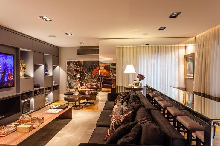 Decor Salteado   Blog De Decoração E Arquitetura : Home Theater E Salas De  Tv Com Part 86