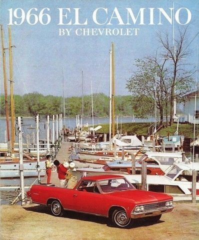 76 best modes for transporting our lives for for the different 1966 chevrolet el camino brochure page 1 fandeluxe Image collections