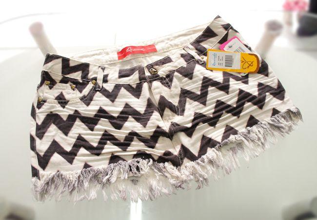 Saia Jeans étnica Revanche - Simplesmente Linda   Compre pelo nosso site www.lojas22k.com.br