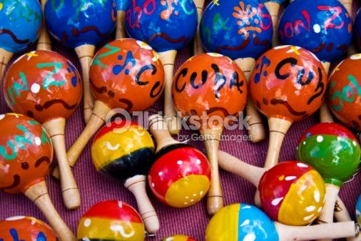 Stock Photo : Cuban Maracas!