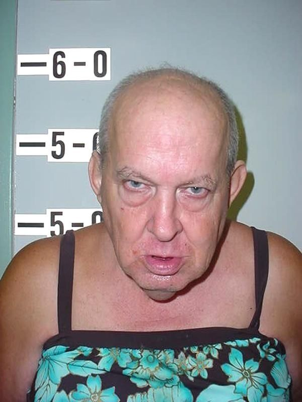 The 30 Best Mugshots Of 2012- this guy was arrested for indecent exposure
