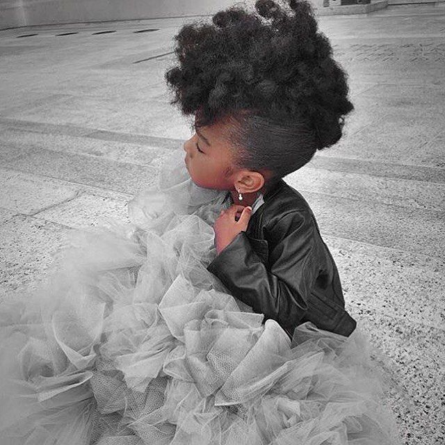 "blackgirlflymag: "" BGF Fly Mini:: Fierce love for this fly Princess   @nylah_k http://ift.tt/1ObAdgH """