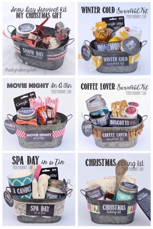 Awesome Gift Basket Ideas #tipit