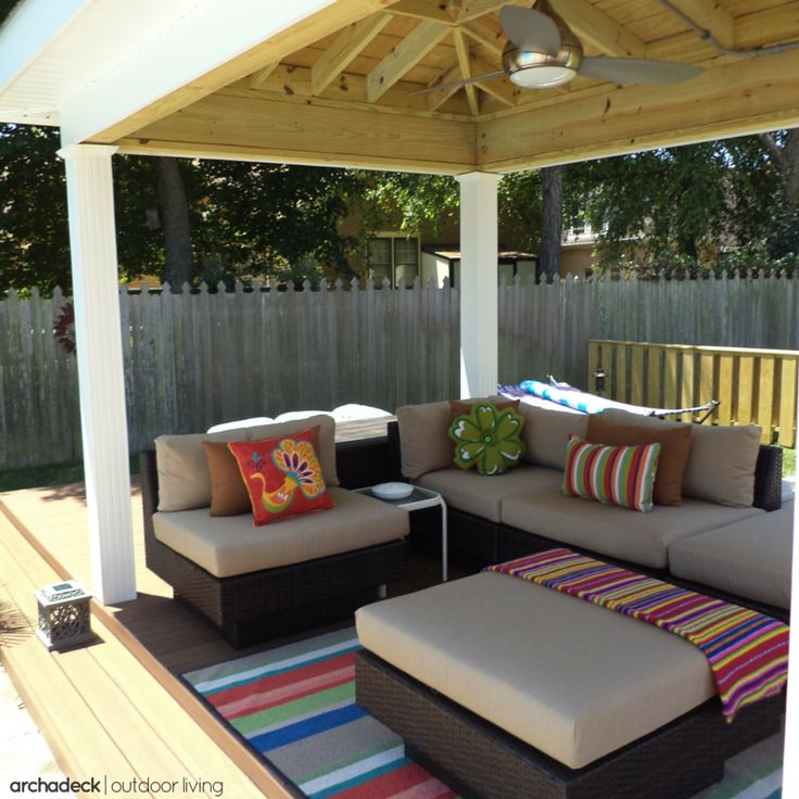 117 best covered deck and patio ideas images on pinterest | patio ... - Open Patio Ideas