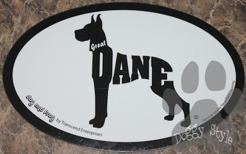 Euro Style Great Dane Dog Breed Magnet http://doggystylegifts.com/products/euro-style-great-dane-dog-breed-magnet