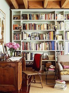 Discover 6 Ideas for Creating a Petite Home Office. Home Library DecorHome  ...