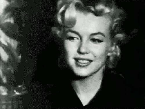 Sweet sweet Marilyn. Tumblr