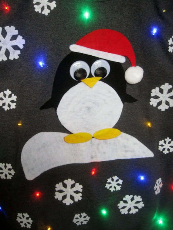 The Light-Up Christmas Sweater is the Greatest Ugly Sweater trendhunter.com