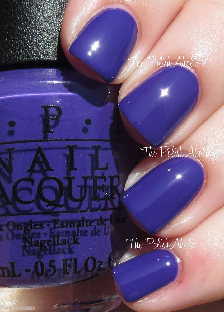 Opi In The Spot Light Pink: 28 Best Images About Purple Nail Polish On Pinterest