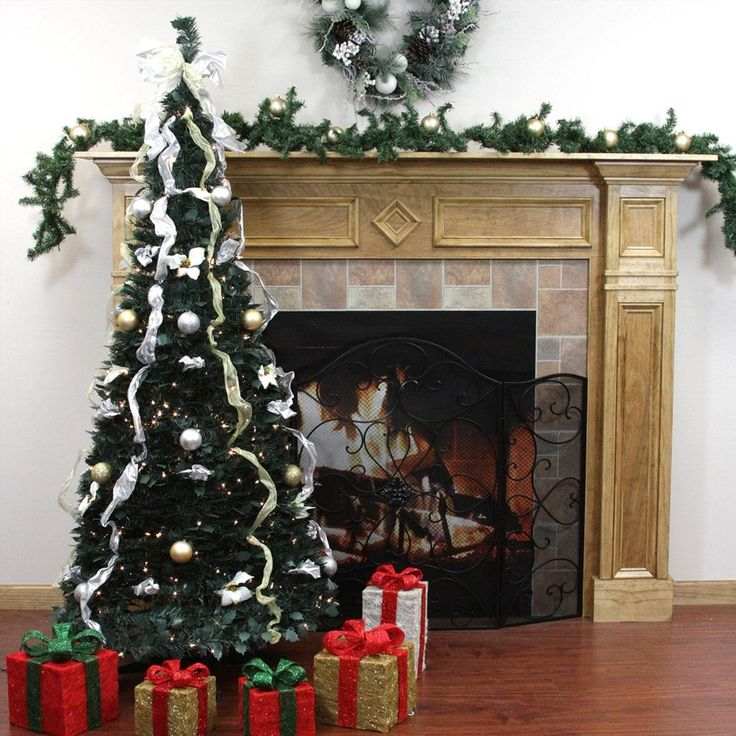 Pull Up Decorated Christmas Tree: 25+ Unique Pre Decorated Christmas Trees Ideas On
