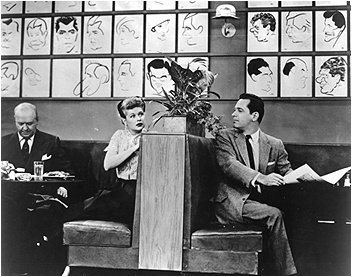 "I Love Lucy Episodes at the Brown Derby in the ""I Love Lucy"" episode, ""L.A. at Last"
