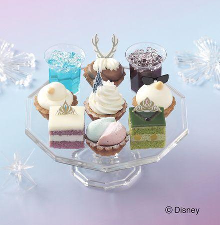 """「銀座コージーコーナー」で""""アナと雪の女王""""デザインのスウィーツを食べよう♪"""