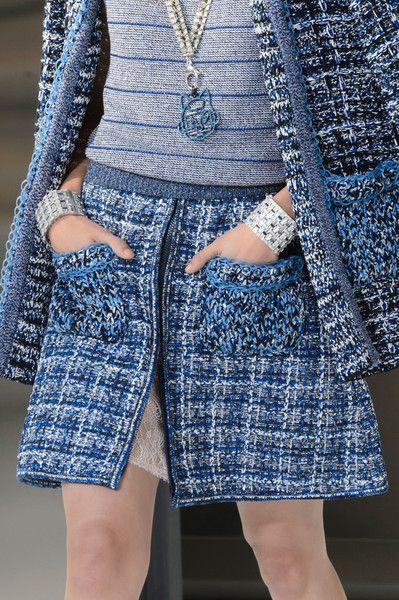 Chanel at Paris Fashion Week Spring 2017 - Details Runway Photos