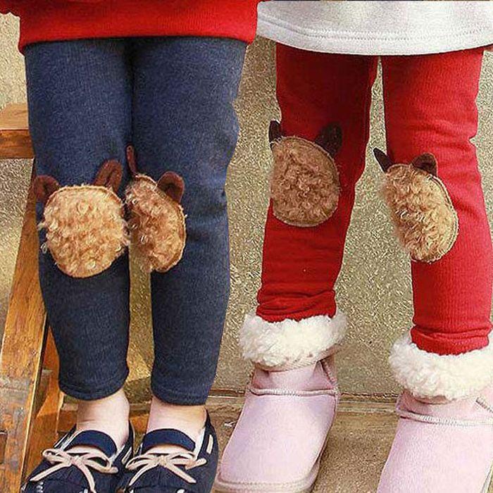 2015 специальный зимний Корейский новая девушка одежда ребенка бархат длинные брюки леггинсы kz-1172