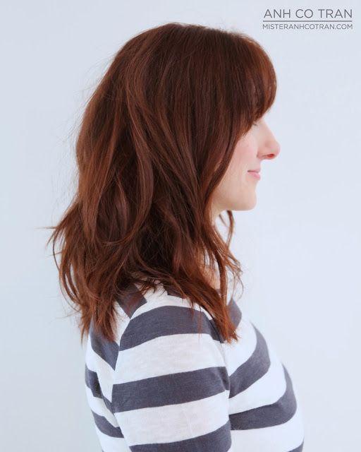 132 Best Images About Bewegte Lange Und Halblange Haare On