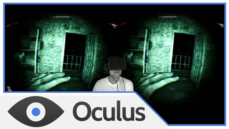 [VR] Outlast with the Oculus Rift! (New Horror Game)