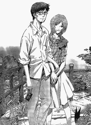 Evangelion's Gendo and Yui Ikari in happier times. Yui and Rei have played a huge role in his life. Do men need women? Click on the picture for my look at Gendo's female-influenced life!