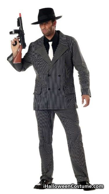 California Costumes Men's Gangster Costume - Halloween Costumes 2013