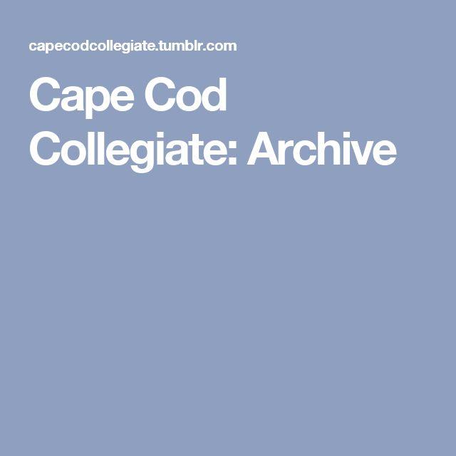 Cape Cod Collegiate: Archive