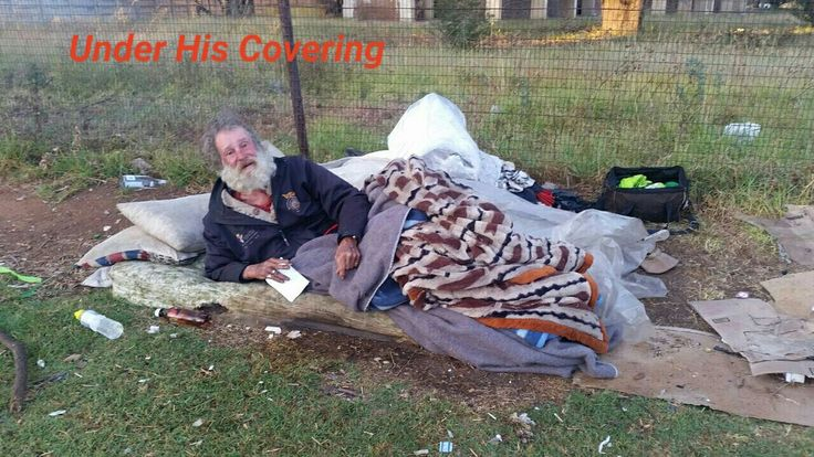 Soup and bread outreach in Kempton park.   Under His Covering