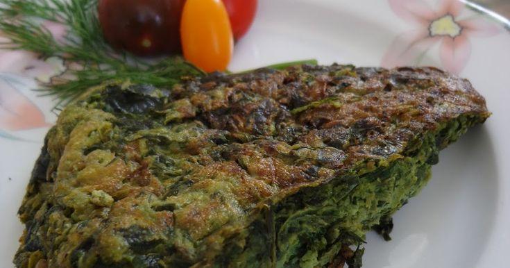 Kuku' Sabzi - La Frittata di spinaci ed erbe aromatiche