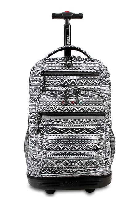 New color of Sundance Rolling Backpack: Tribal http://jworldstore.com/shop/campus/new/sundance-rolling-backpack-tribal.html