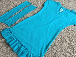 5XL T-Shirt to Swimsuit Cover-up | A Little Tipsy for TodaysCreativeBlog.net