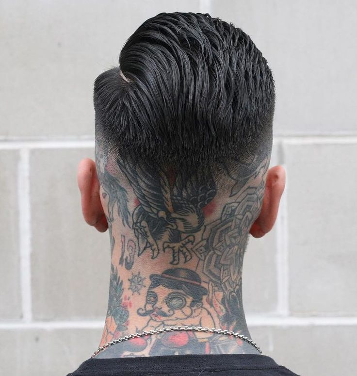 We've already talked about the high fade and low fade. If neither of those are for you, maybe the medium fade is just right. Landing somewhere in below the temples and above the neck, the