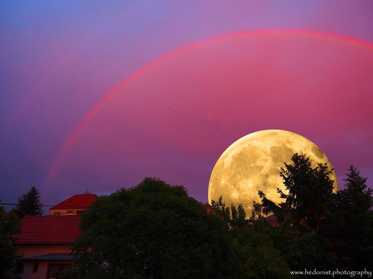 Rainbow-Moon | by Hedonist.Photography