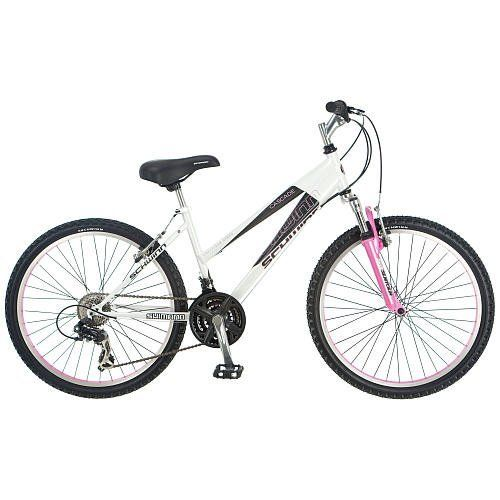 Schwinn 24 inch Bike - Girls - Cascade by Pacific Cycle. $234.98. The Schwinn Casscade is the type of quality bike that has made Schwinn Americas first choice for over 100 years. Whether you are riding for exercise or recreation, the Schwinn Cascade is the perfect choice. The Quality Schwinn features include: An SR Suntour Suspension Fork for a smooth ride SRAM Grip Shift Shiters for easy gear changes 21 speeds with a Shimano TX-31 rear derailleur that you can ...