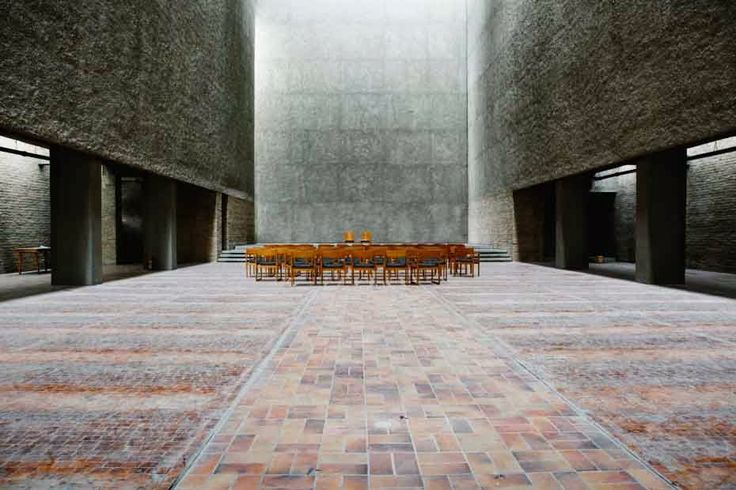 St. Agnes church in Berlin by Werner Düttmann, 1964-67