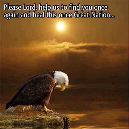 Father, please forgive this nation and bless us once again...