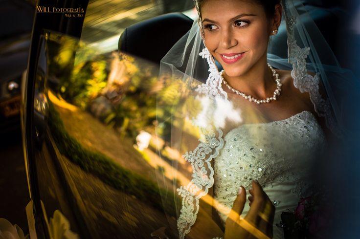 Llego el momento !!!  Novia !  www.willfotografia.com