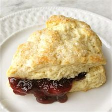 """Cream Tea Scones  These scones couldn't be more basic — or more delicious. Simply stir together flour, sugar, salt, leavening, vanilla, and enough cream to make a cohesive dough. Pat into circles, cut into wedges, chill, bake — and enjoy ultra-tender, warm """"cream tea"""" scones, perfect with butter and fresh preserves."""