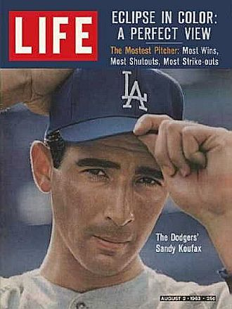 sandy koufax.... one the greatest pitchers in major league baseball history who is greatly admired for standing by his religious principles in his own private way.